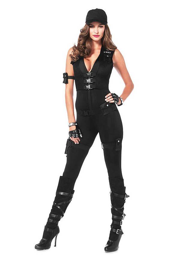 Sexy SWAT Offizierin Kostüm                                                                                                                                                                                 Mehr