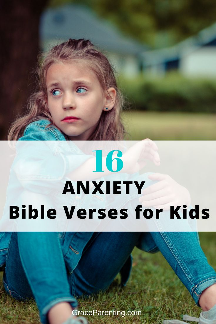 Find bible verses about anxiety for children, teens, and parents. Short bible verses that are easy to learn and great for homeschool bible lesson!