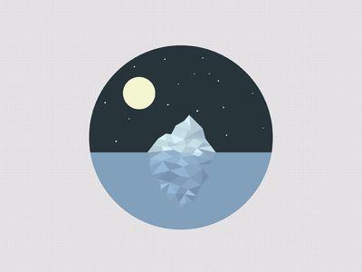 Dribbble - Iceberg by Artem Merenfeld