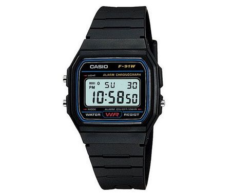 Reloj Casio Vintage con alarma y crono. Sencillo, ergonómico, resistente... el…