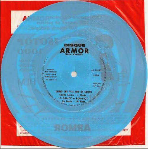 45 RPM - ARMOR - n°164 - 1968 - La bande à Bonnot