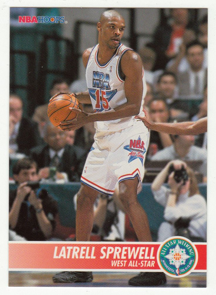 Latrell Sprewell # 249 - 1994-95 Skybox Hoops Basketball