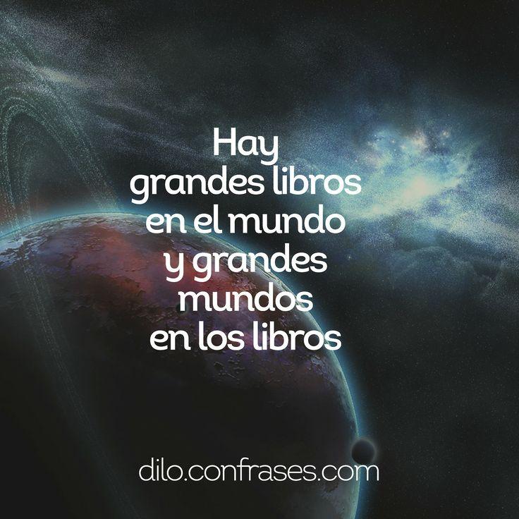 Hay grandes libros en el mundo y grandes mundos en los libros #libros ... Heartbreak Images For Facebook