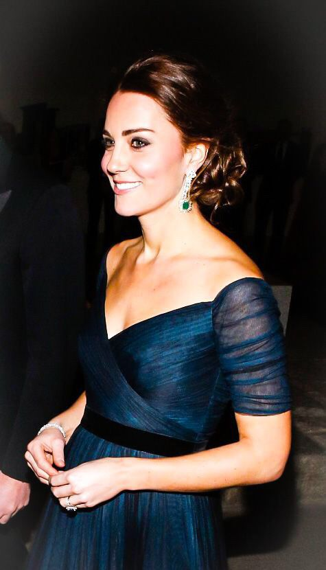 The Duchess of Cambridge looking absolutely stunning at the St. Andrews 600th Anniversary Gala at the Metropolitan Museum of Art in New York City. December 9th, 2014.