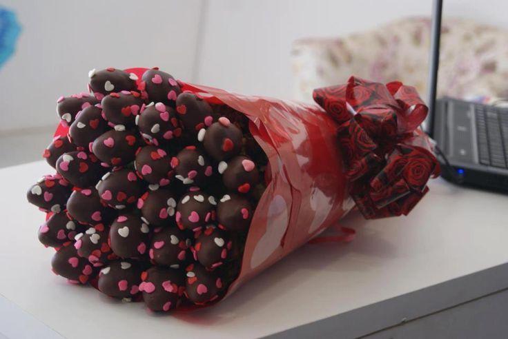 postres chocolate con fresas - Buscar con Google
