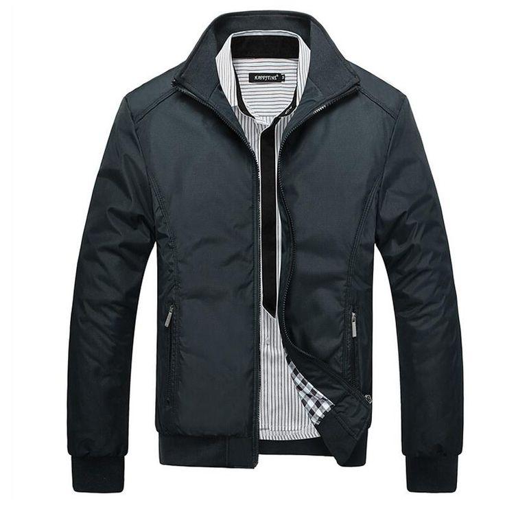 Hombres de la chaqueta de abrigo Casual bomber chaquetas para hombre abrigo rompevientos exterior jaqueta masculina veste…