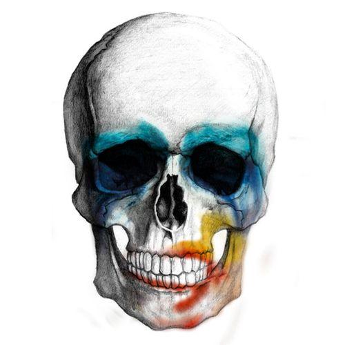 Lady Gaga ARTPOP skull :3