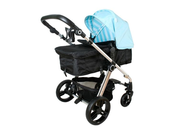 My Babiie MB150 2in1 Pushchair and Pram in Baby Blue