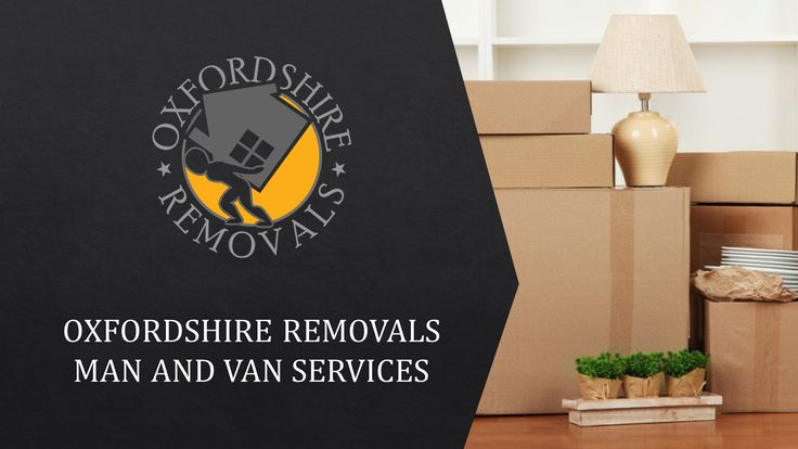 Oxfordshire Removals Man and Van Servixes