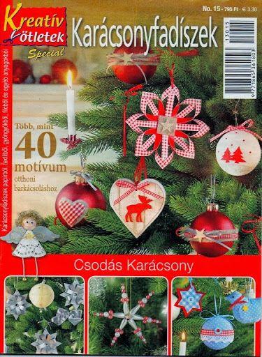Kreatív ötletek special 15 - Karácsonyfadíszek - Angela Lakatos - Picasa Webalbumok