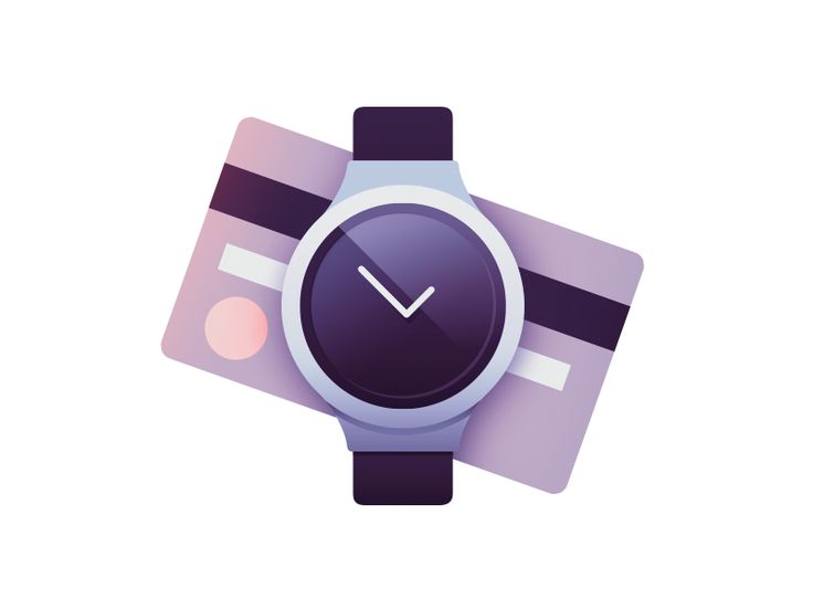 Time is money by Paulius #flat #iconic #gradient