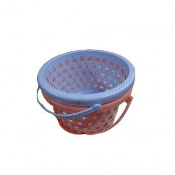 Καλαθάκι πλαστικό για μανταλάκια 23 εκ. σε διάφορα χρώματα