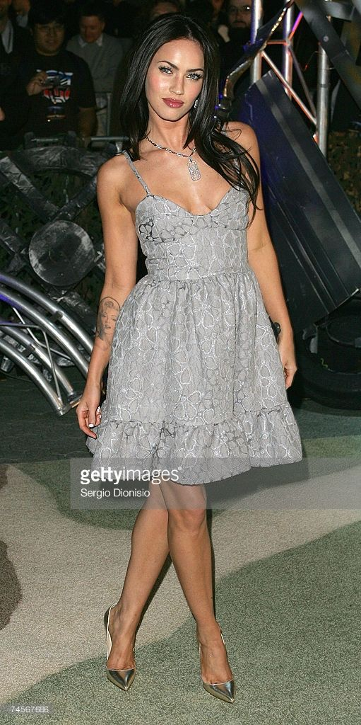 Actress Megan Fox of the US attends the special event celebrity screening of the new film 'Transformers' at Hoyts Entertainment Quarter, Moore Park on June 12, 2007 in Sydney, Australia.