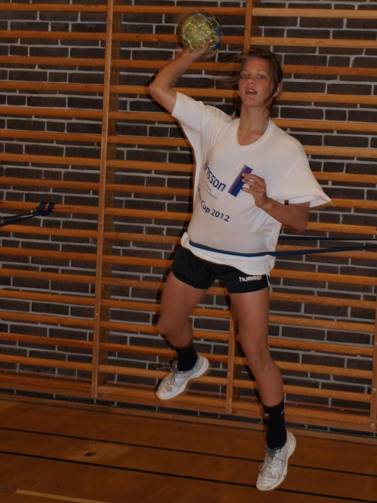 #TræningsSeminar#Håndboldtræning#powerbands#IngolfurSnorrason#BettinaWæde