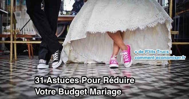 On a demandé à nos lecteurs de partager leurs astuces pour réduire leur budget mariage. Voici leurs meilleures idées rien que pour vous... Découvrez l'astuce ici : http://www.comment-economiser.fr/32-astuces-geniales-pour-reduire-votre-budget-mariage..html
