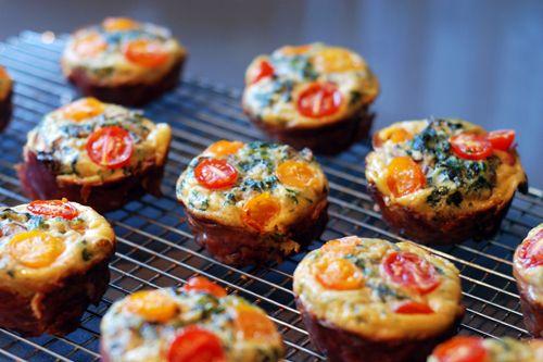 Whole30 Day 14: Prosciutto-Wrapped Mini Frittata Muffins by Michelle Tam http://nomnompaleo.com