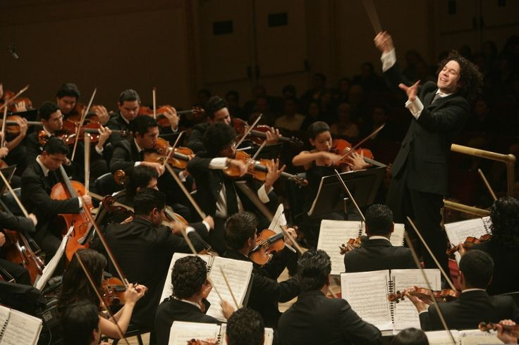 conductor-gustavo-dudamels-debut-at-carnegie-hall-in-november-2007-leading-the-simon-bolivar-youth-orchestra-of-venezuela