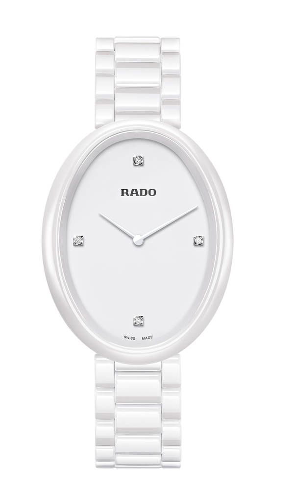 Nuevo reloj Rado Esenza Touch para mujer: Reloj Rado Esenza Touch 277_0092_3_071Rado Esenza Touch en cerámica blanca, con diamantes en esfera