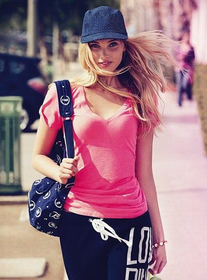 Essential V-Neck Tee - Victoria's Secret PINK® - Victoria's Secret