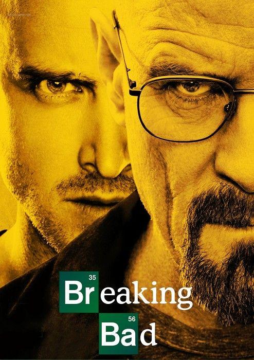 Une de mes séries préférées Breaking Bad