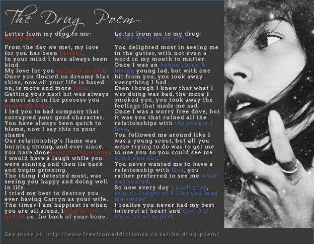 The drug poem