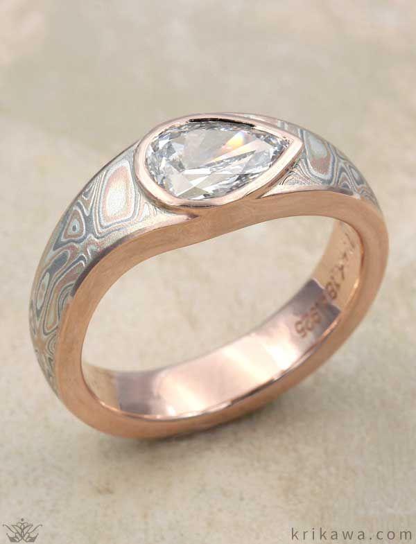 39 besten Rose Gold Rings Bilder auf Pinterest | Roségoldene ringe ...
