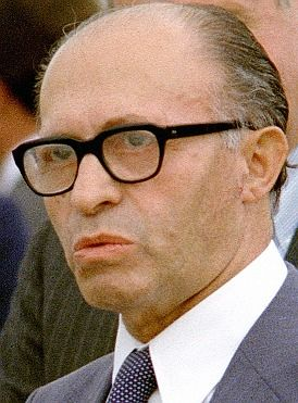 Menachem Begin (1913 - 1992)Former prime minister of Israel, signed the Camp David accords establishing peace with Egypt in 1979