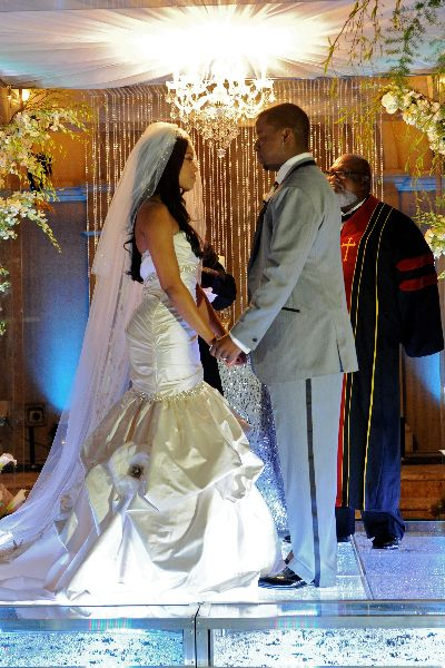 Kordell Amp Porsha Stewart S Beautiful Bling Ceremony