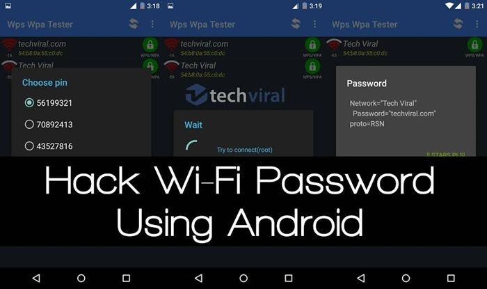Learn How to Hack or Recover Wifi Password on Android Without Root, Time to start real wifi hacking without rooting your android phone.