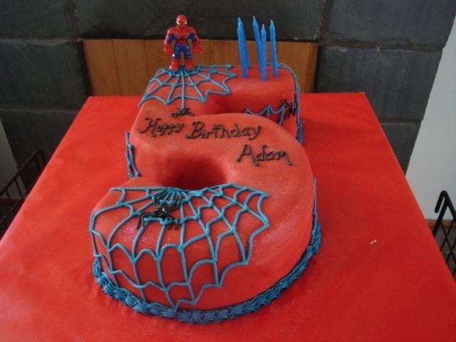 Spider man for my sons 5th birthday.  It was a winner....