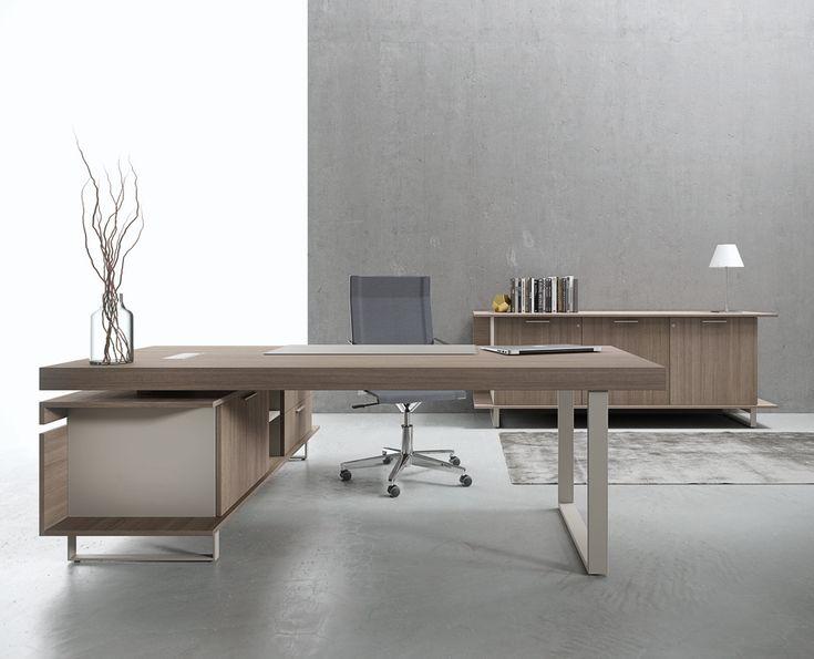 368 best images on pinterest desks office designs for Office desk design