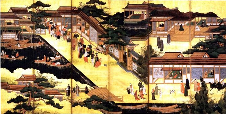 Portuguese arrival in Japan (1543).