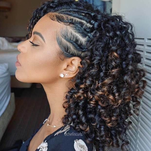 27 Cornrows Fulani Braids Hairstyles 2018 You Should Try