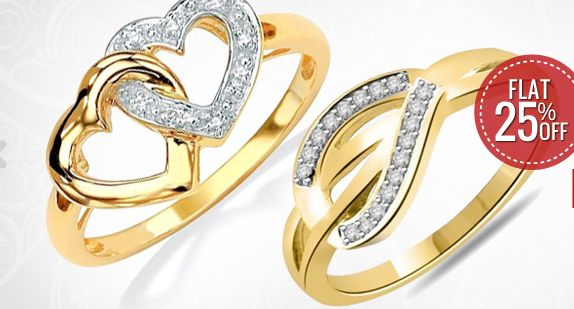Get 25% OFF ON Valentine's Day Special Jewellery.