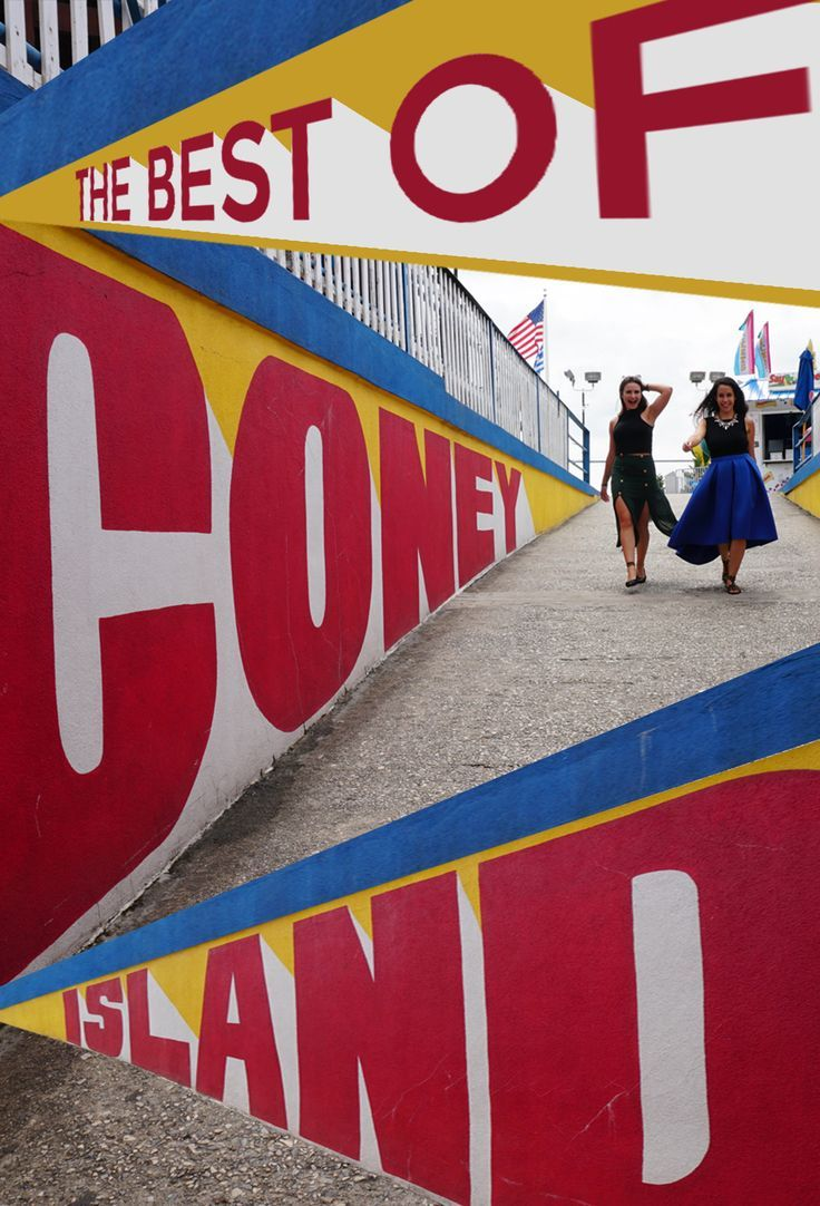 The Best Things to do in Coney Island this summer. Coney Island is a staple for any New Yorker or visitor in summertime. Ride colorful roller coasters or taste the first ever New York hot dog. Fun Fact: Coney Island is actually a peninsula, not an island. Click through to find out the top highlights of Coney Island - only an hour subway ride away from NYC. | The Travel Women #nyc #newyorktravel #coneyisland
