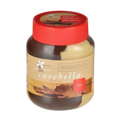 Molenaartje Carobella duo karobová pomazánka s lískovými ořechy a lupinovou moukou 350g