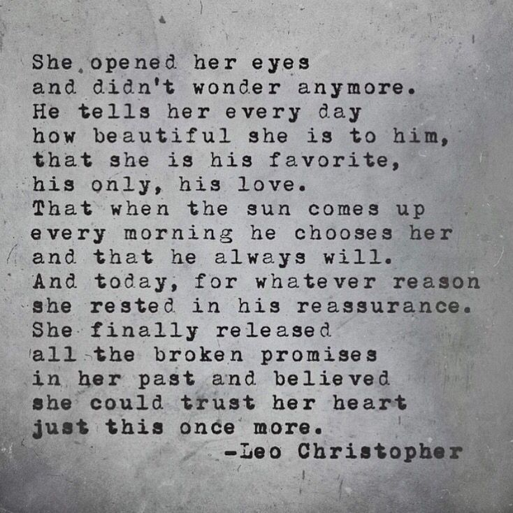 Just this once more leo christopher quotes me quotes