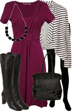 example  women's contemporary business casual  fashion