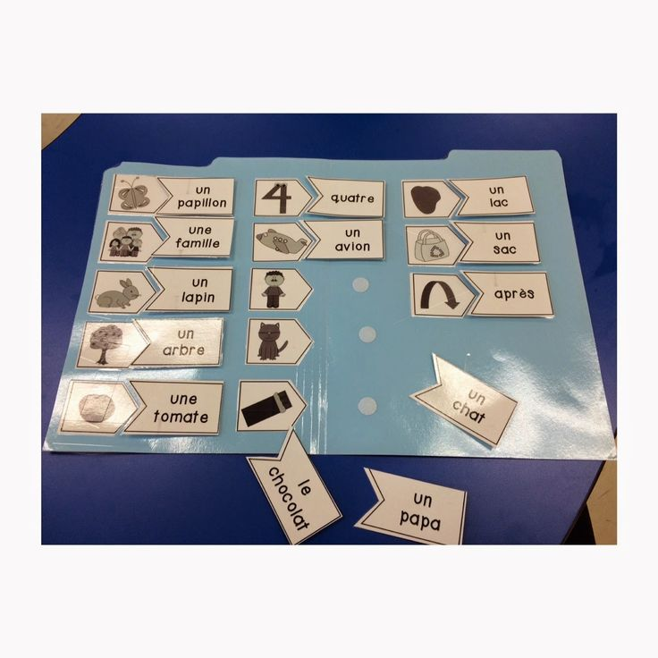 Primary French Immersion Resources: Le son a (continued!) sound centres