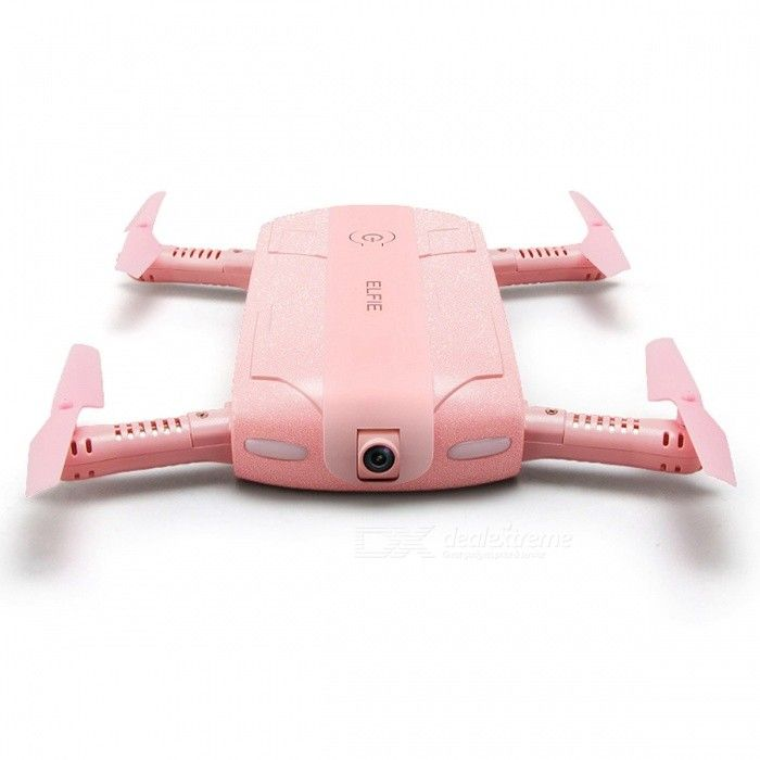 JJRC H37 ELFIE WIFI FPV 720P Mini Drone RC Quadcopter w/ Camera - Pink - Free Shipping - DealExtreme