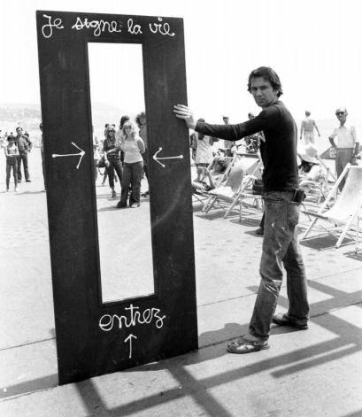 Je signe la vie, Ben Vautier, 1962