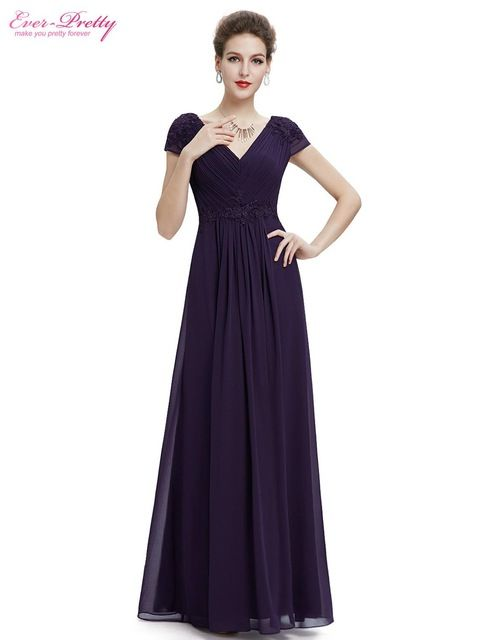 Clearance Sale  Prom Dresses 2017 Ever Pretty HE08467SB Women Sexy V-Neck  Ruched b348807a1