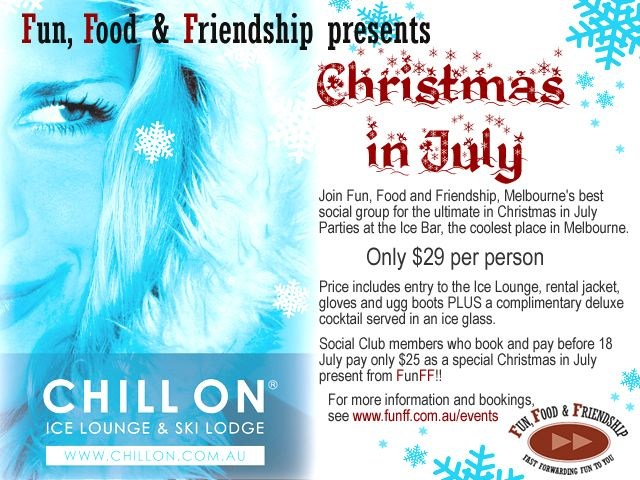 Another Christmas in July