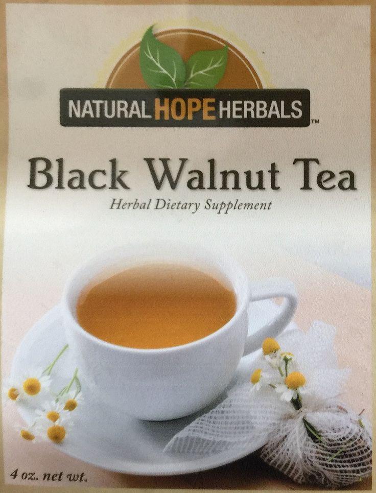 BLACK WALNUT TEA Oral Care Traditional Herbal Blend | Healthy Teeth ...