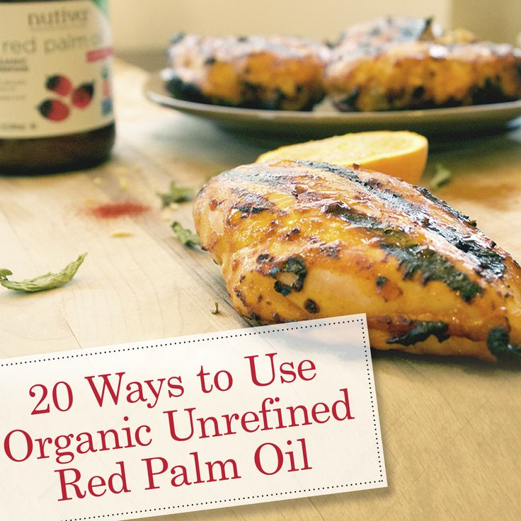 20 Ways to Use Organic Unrefined Red Palm Oil kitchen.nutiva.com