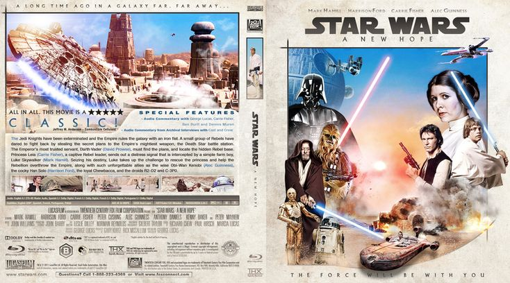 Star Wars: Episode IV - A New Hope Blu-ray Custom Cover