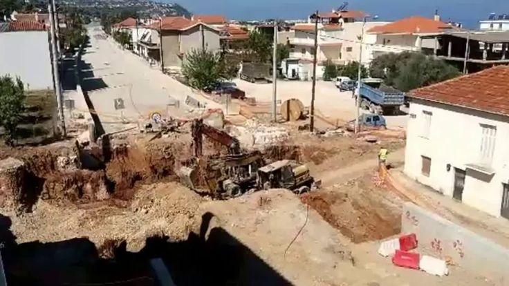 ΕΡΓΟΣΕ. Κατασκευή κάτω οδικής διάβασης στην Αιγείρα