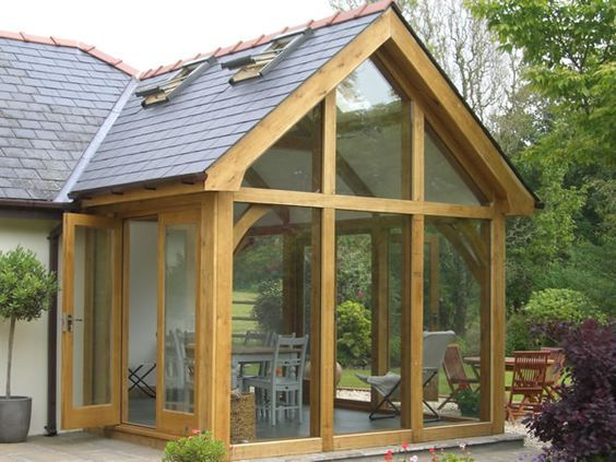 glass extension cottages - Google Search