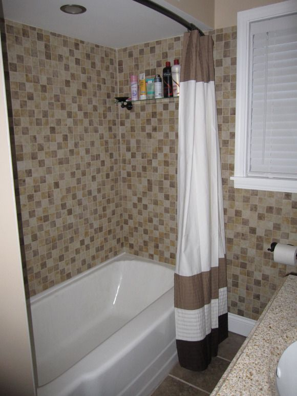 updated bathroom, our bathroom wasnt too bad before...just didnt ...