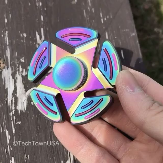 Beautiful : Printable Fidget Spinner Template
